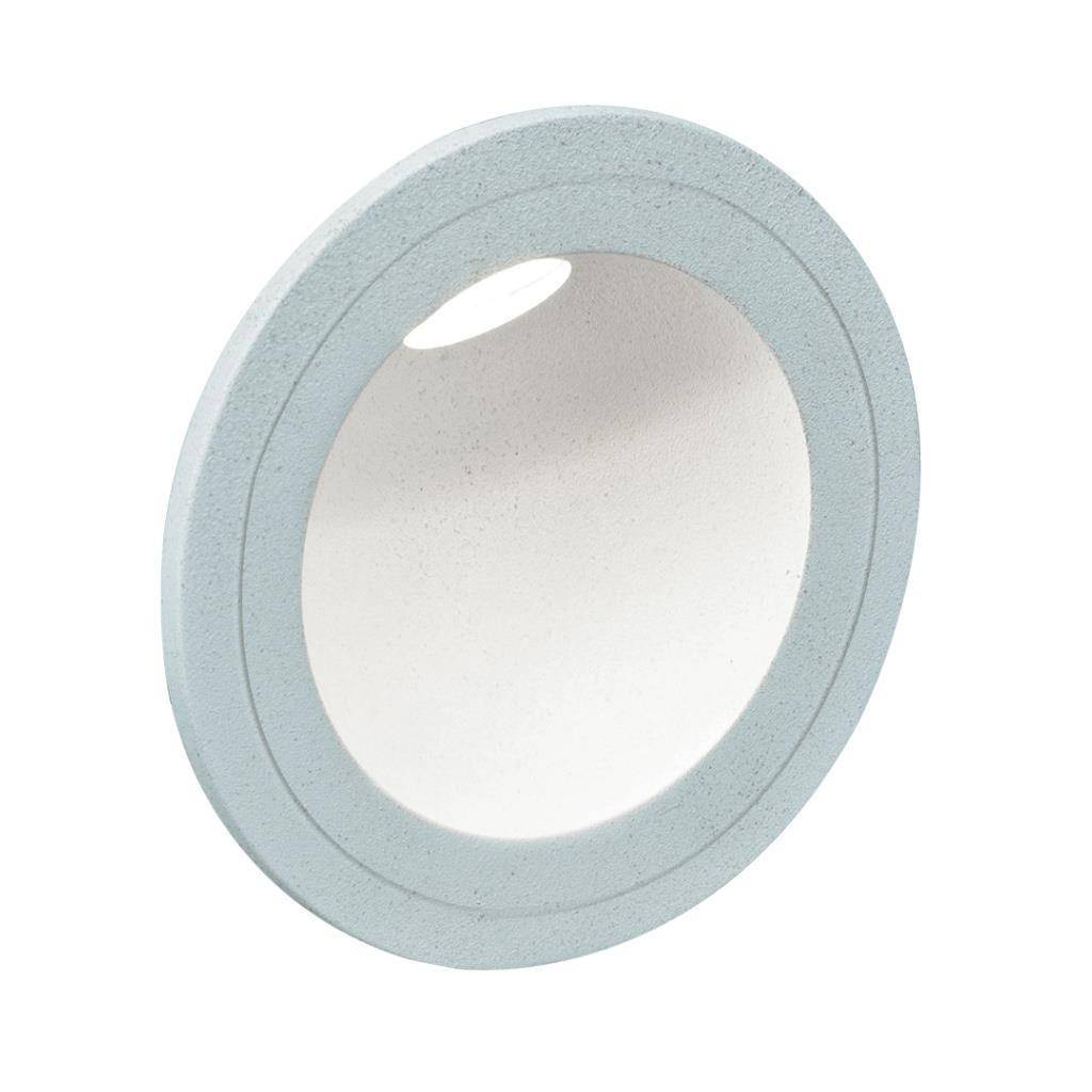You IP54 Indoor / Outdoor Recessed LED Steplight, 5000K, Round