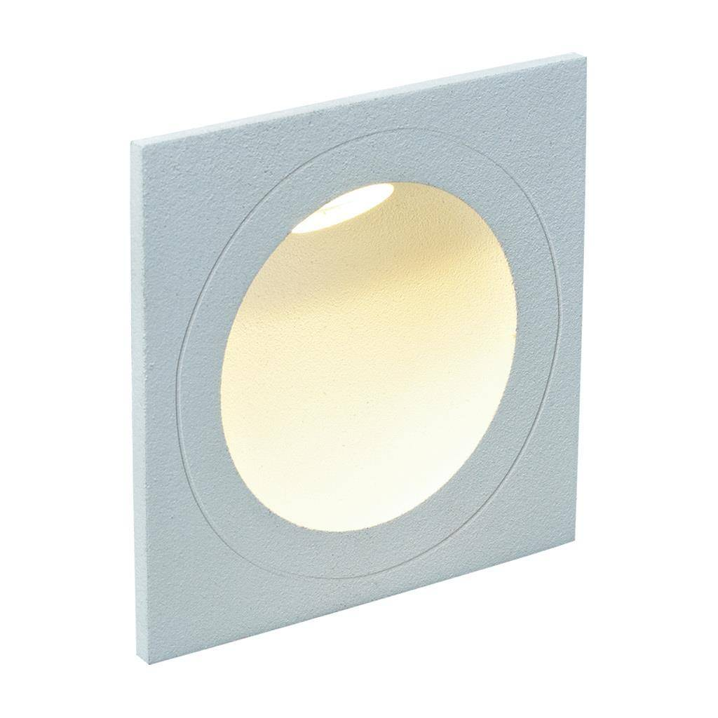 You IP54 Indoor / Outdoor Recessed LED Steplight, 3000K, Square