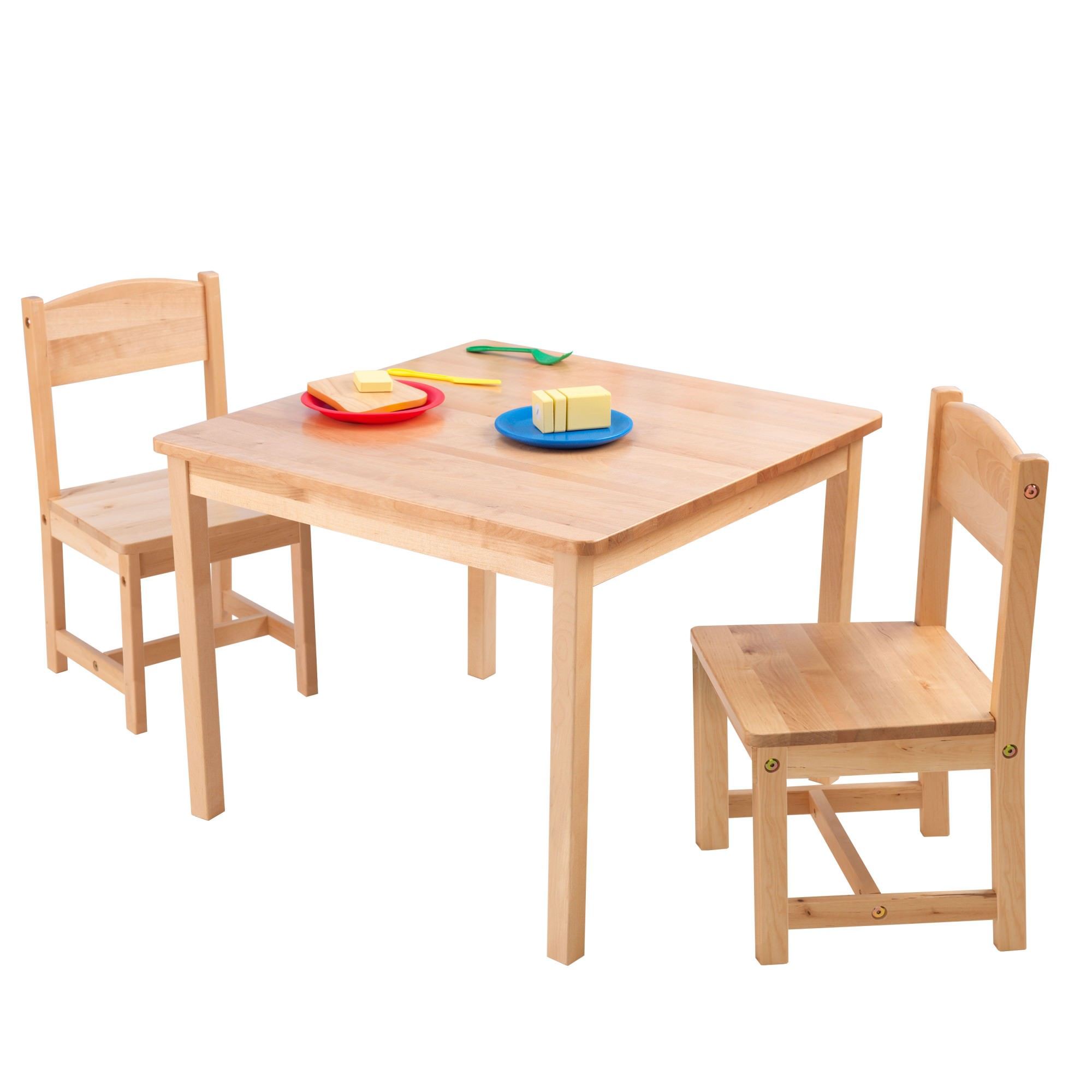 Kidkraft Aspen Table and 2 Chairs - Natural