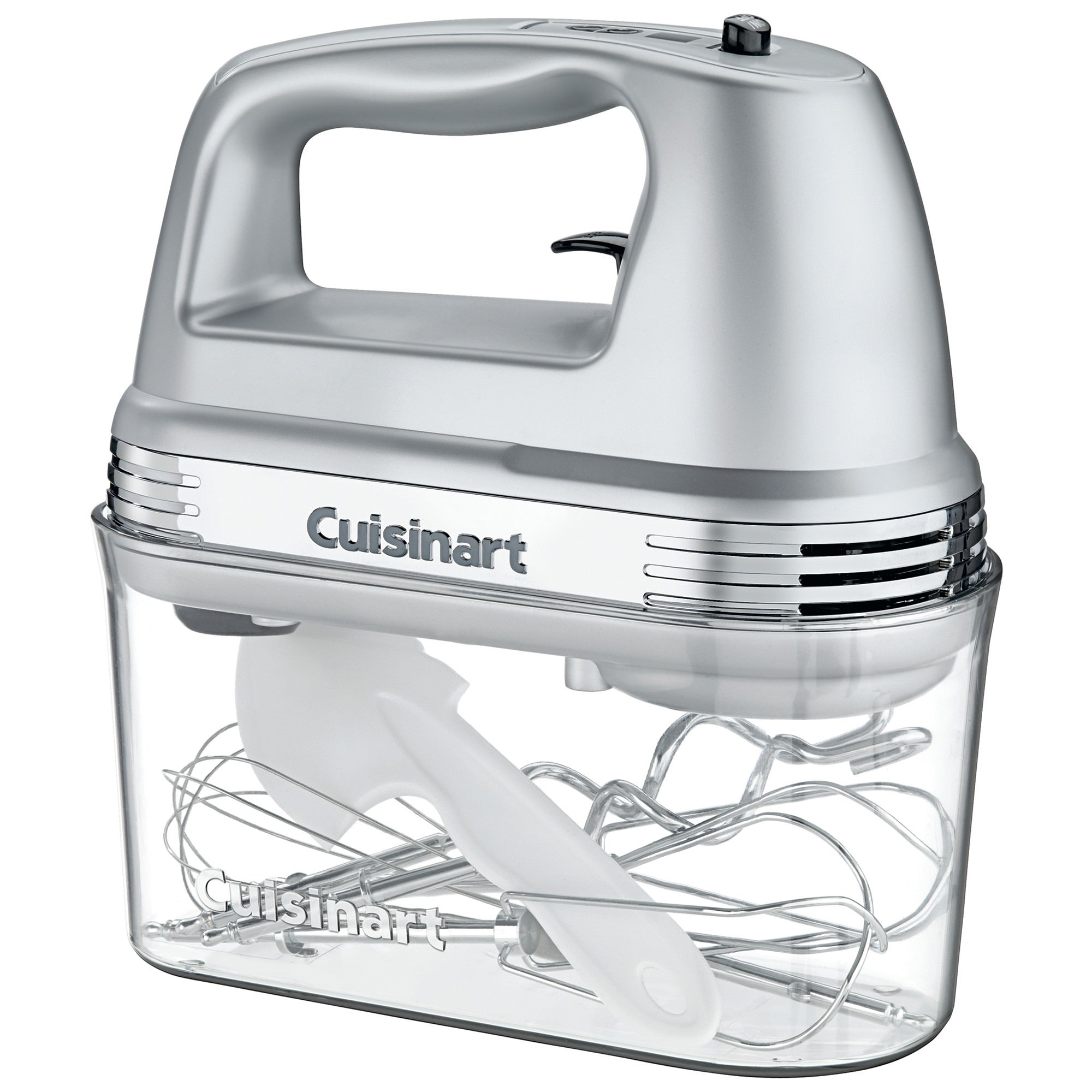 Cuisinart 9 Speed Hand Mixer with Storage Case - Silver