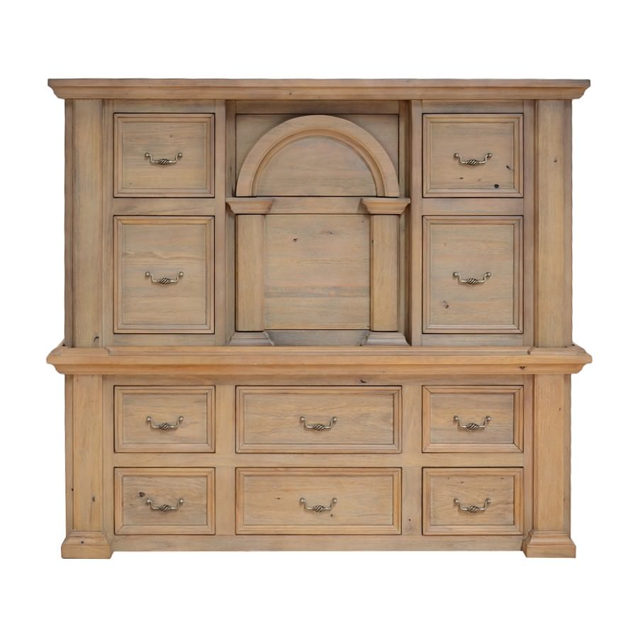 Valencia Mountain Ash Timber 12 Drawer Chest