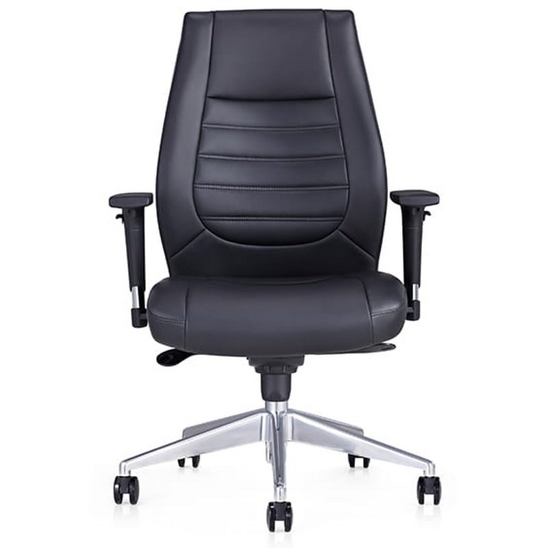 Boston PU Leather Executive Office Chair, Low Back