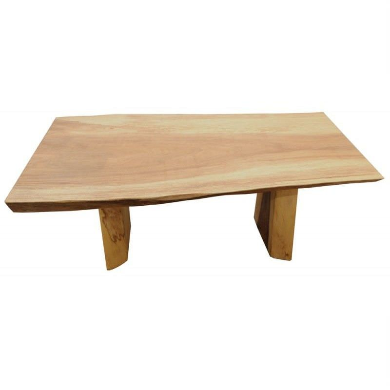 Dudley Recycled Timber Coffee Table in Natural - 150cm