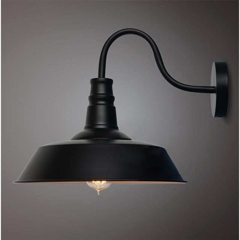 Daniel Industrial Iron Wall Sconce - Large