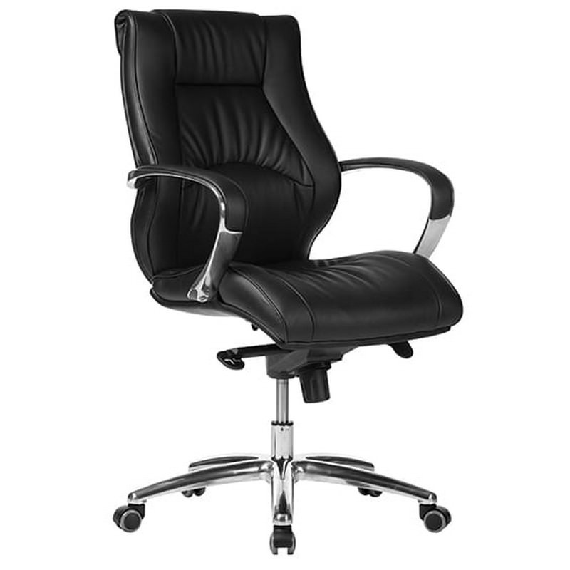 Camry PU Leather Executive Office Chair, Low Back