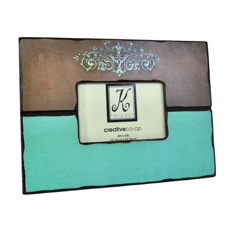 Small Vintage Wooden Photo Frame