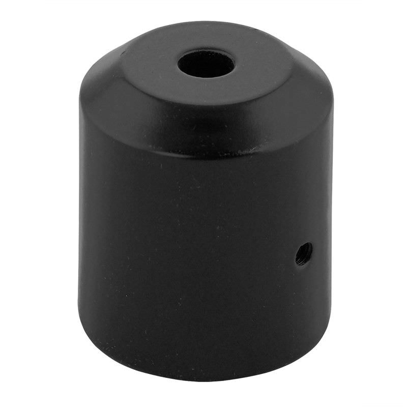 Small Replacement Post Lantern Adapter - Black