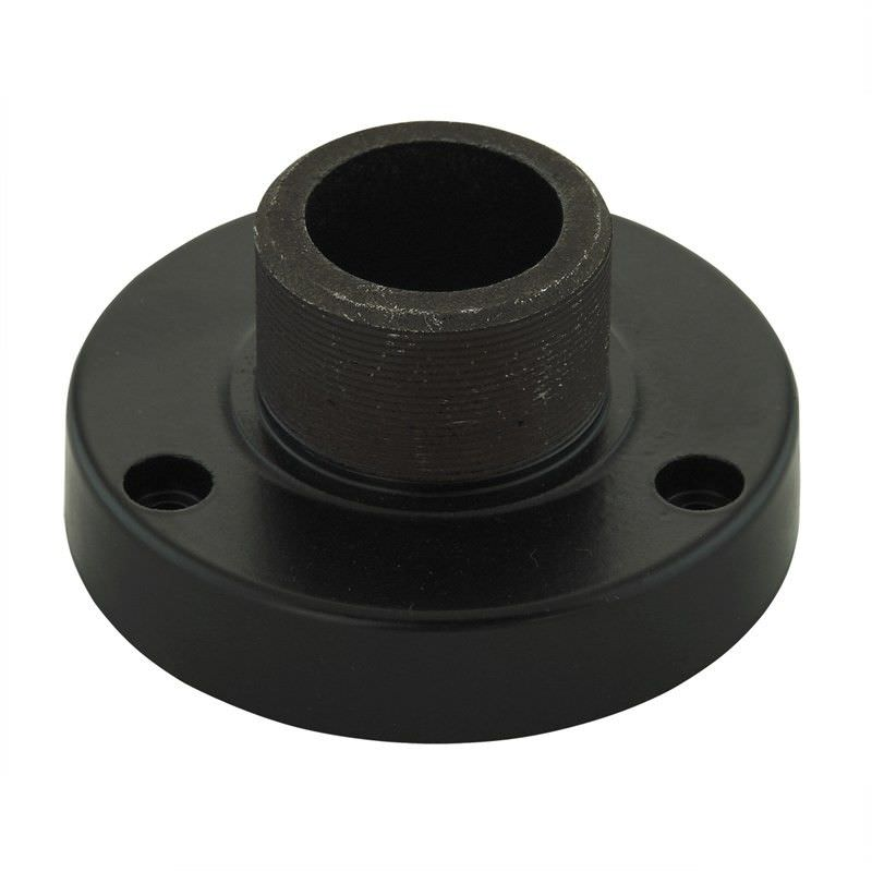 Replacement Post Lantern Base Thread Adapter Plate - Black