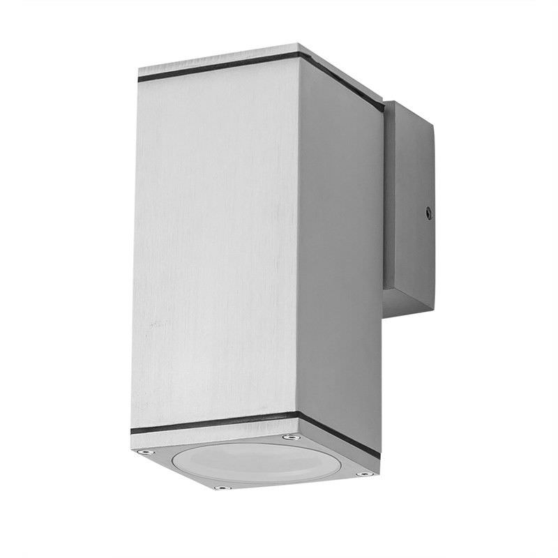 Evergreen Alpha-1 IP54 Exterior Warm White LED Down Wall Light