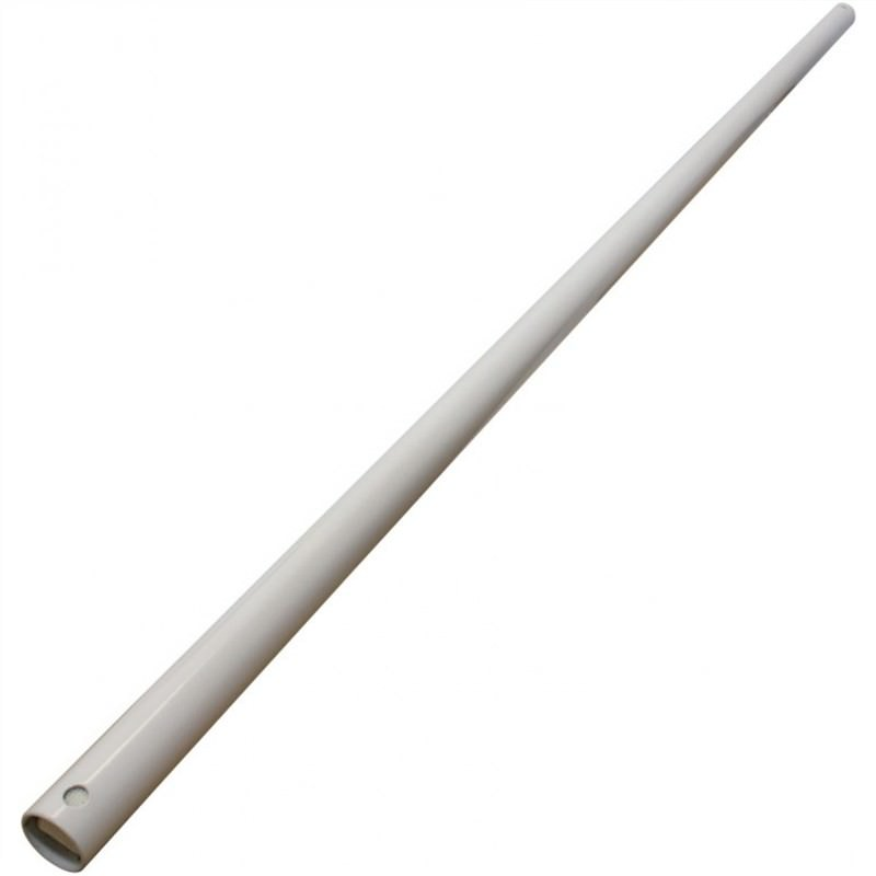 90cm Downrod with Loom in White for Envirofan and Precision 304
