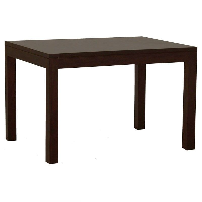 Amsterdam Solid Mahogany Timber 150cm Dining Table - Chocolate