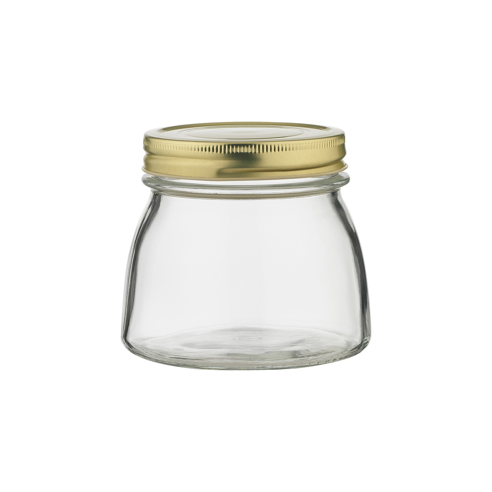 Ecology Source Glass Preserve Jar with Lid, 500ml