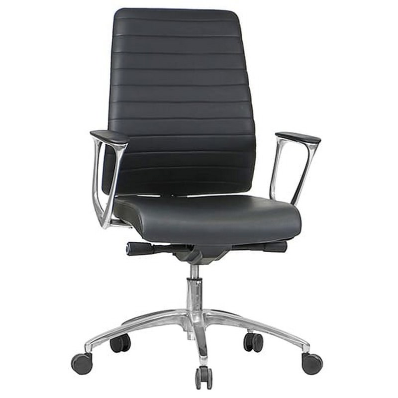 Enzo PU Leather Executive Office Chair, Low Back