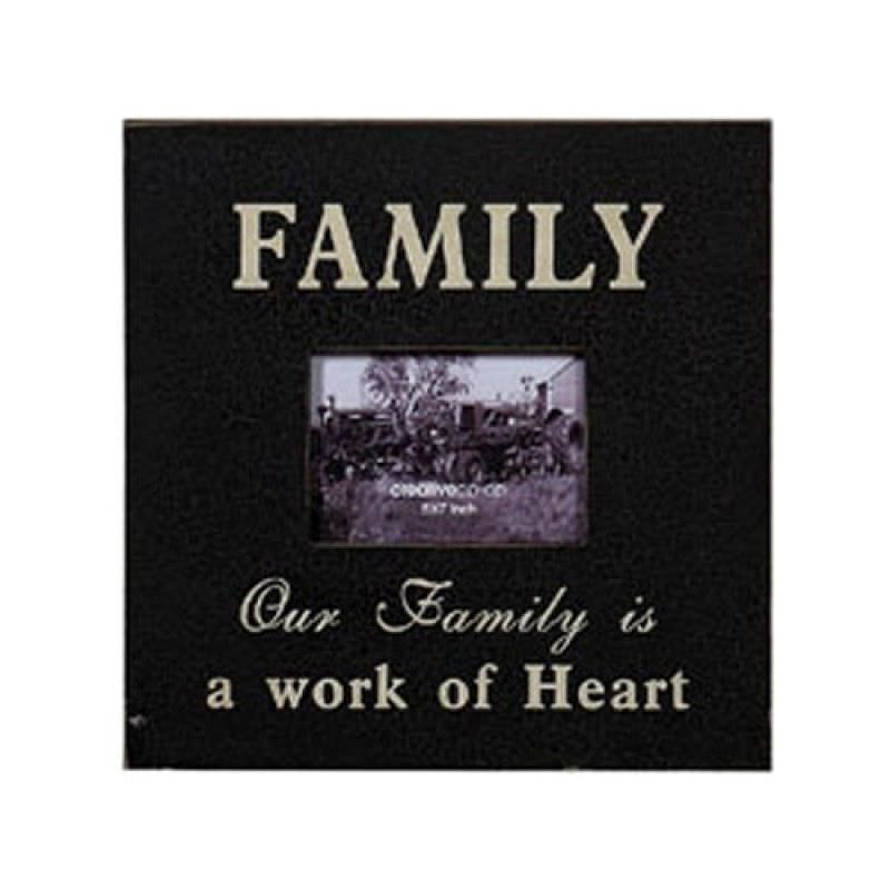 Rustic Style Family Photo Frame