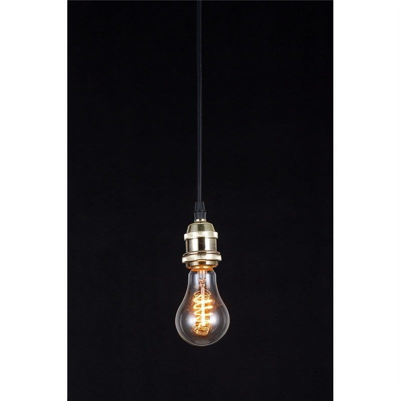 Edison Style Light Bulb with Brass Fitting