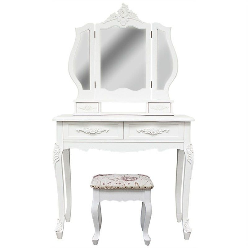 Ecoles Dressing Table with Cachan Dressing Stool