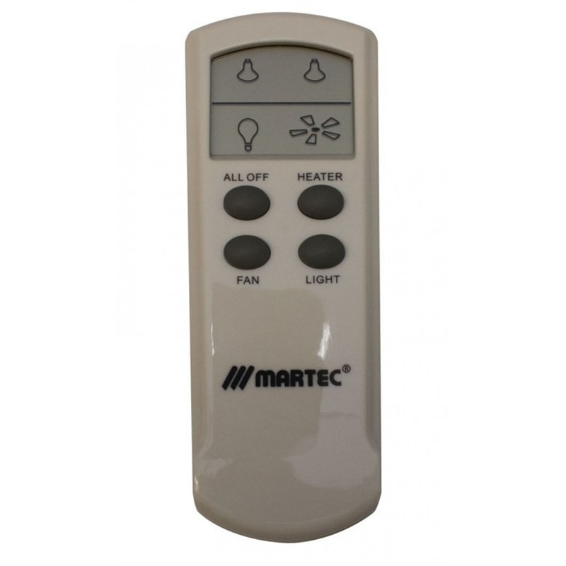 Martec LCD Remote Kit for All 3-in-1 Bathroom Heater Ranges (MBHREM)