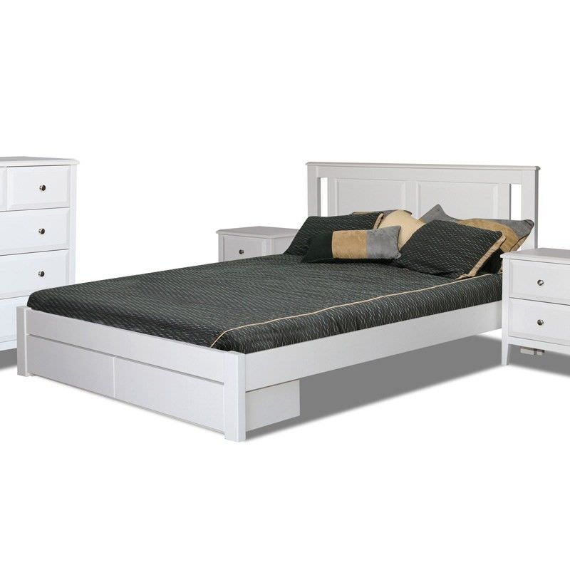 Cameroon Bed with Storage, Single