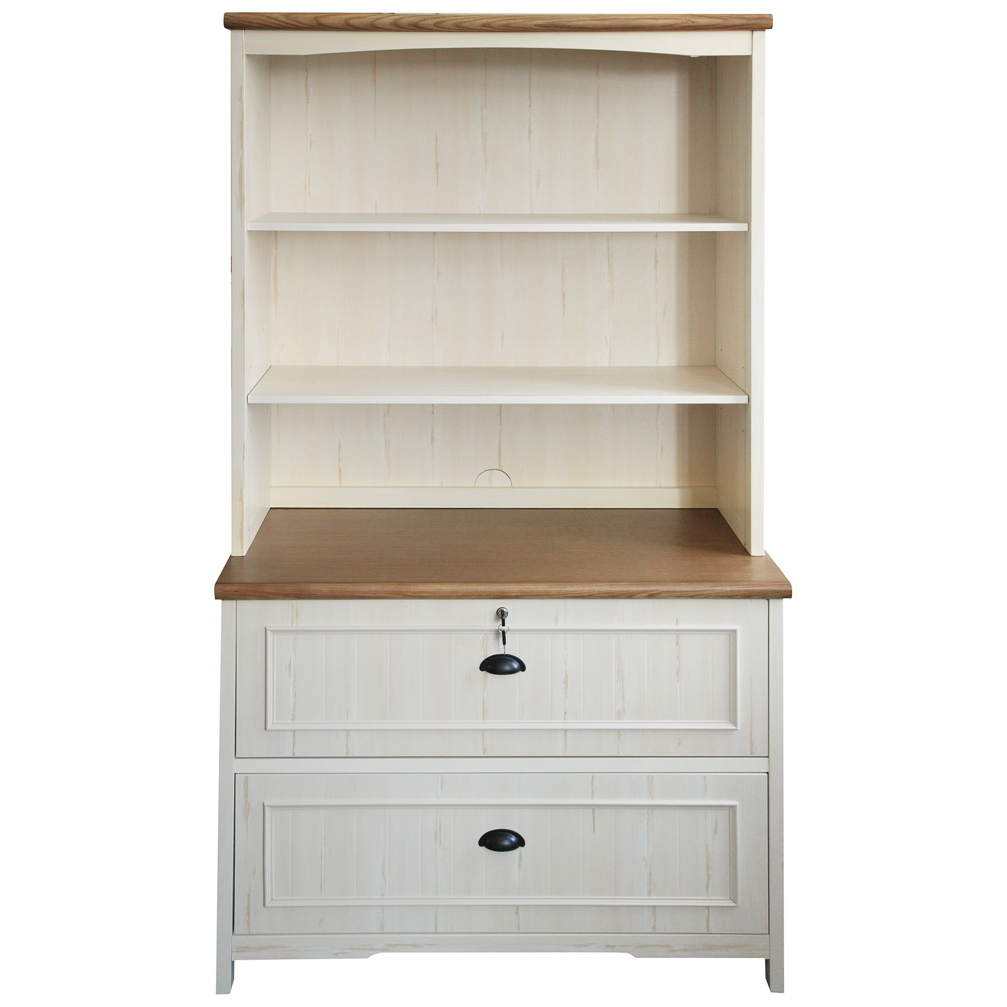 Melton Lateral File Cabinet with Hutch