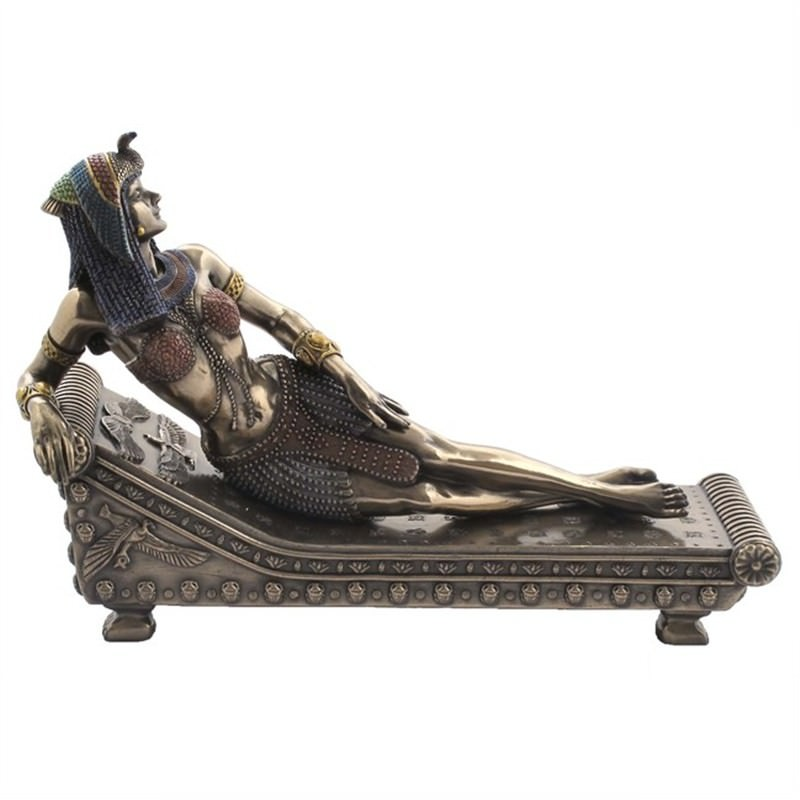 Cleopatra Lying on Bed