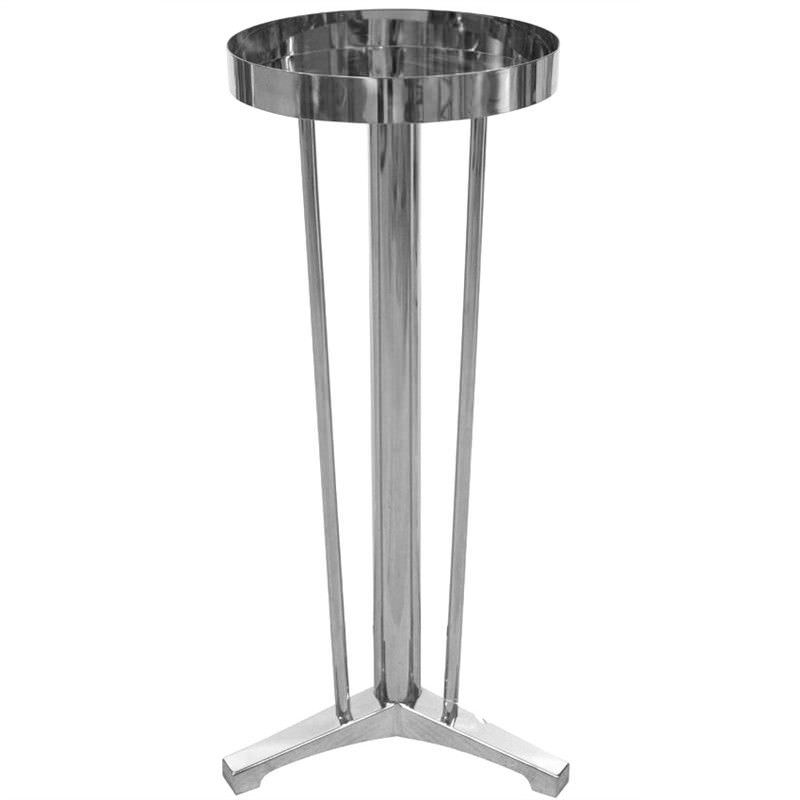 Moet Stainless Steel Side Table wit Tray Top
