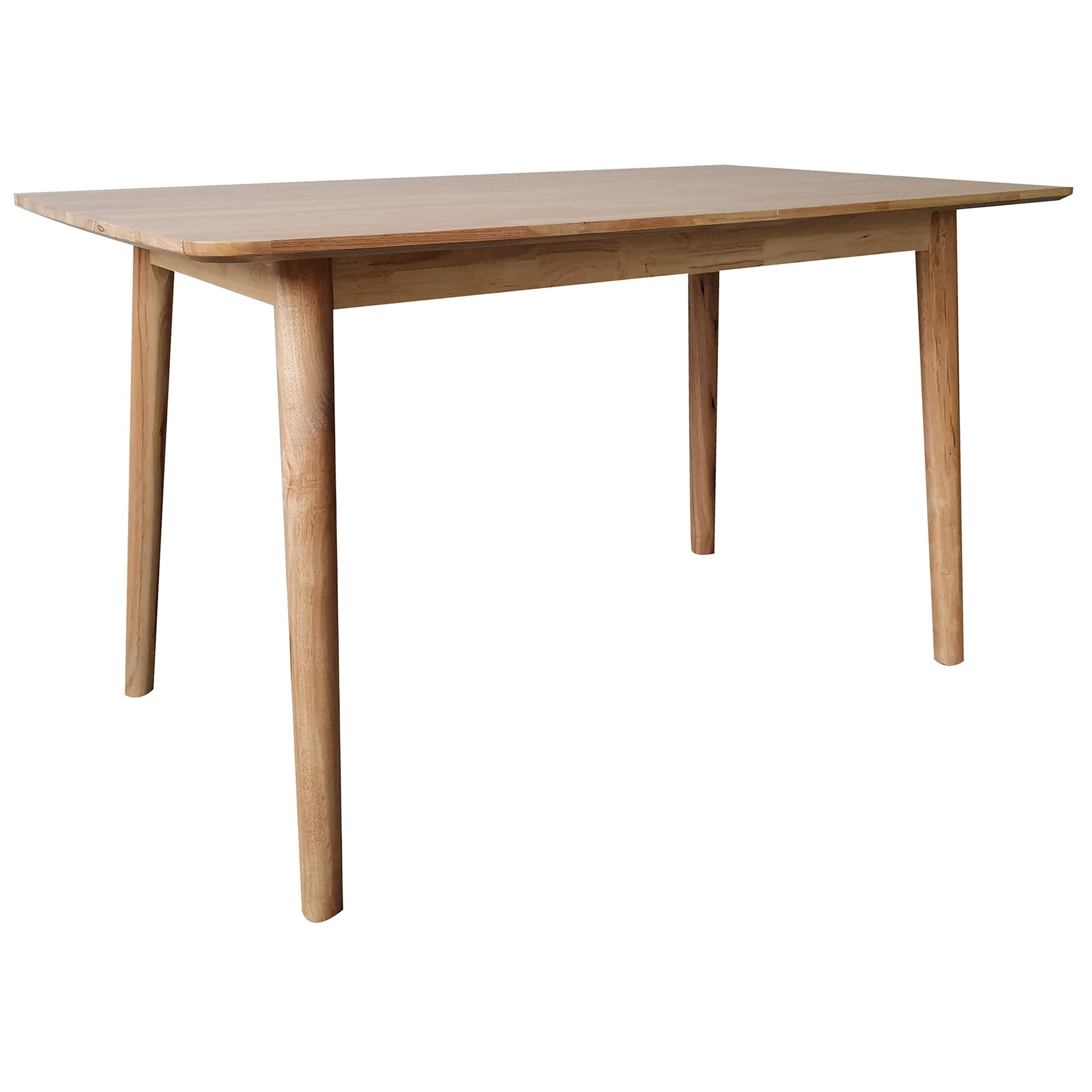 Tende Rubber Wood Dining Table, 160cm