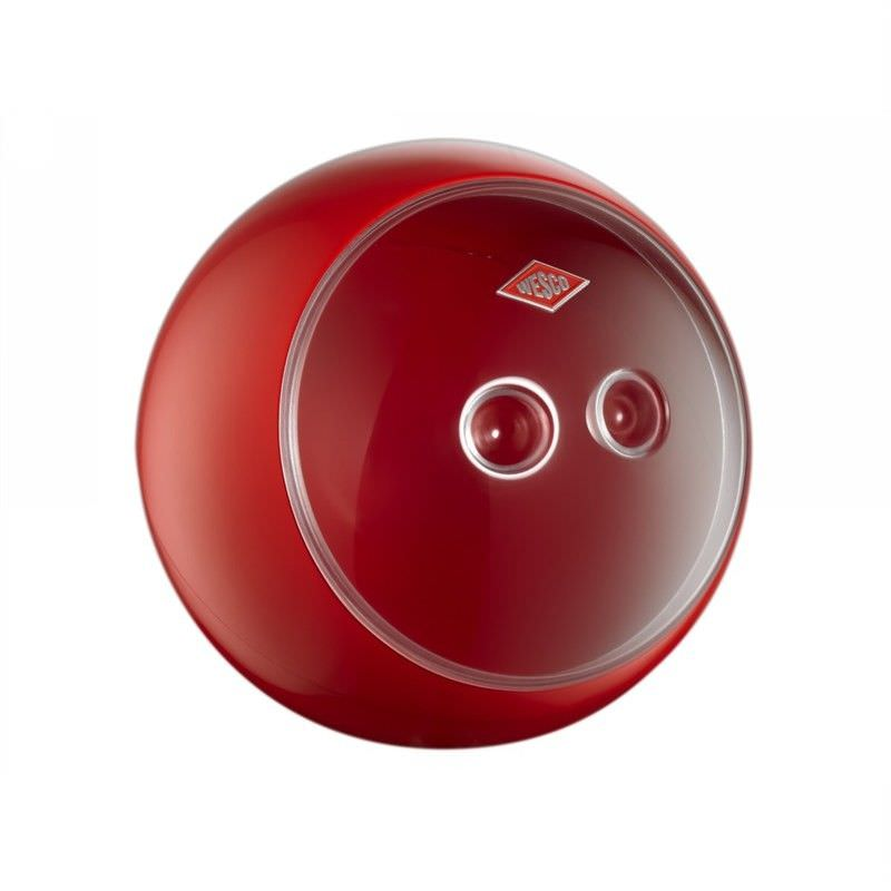 Wesco Spacy Ball Steel Storage Container - Red