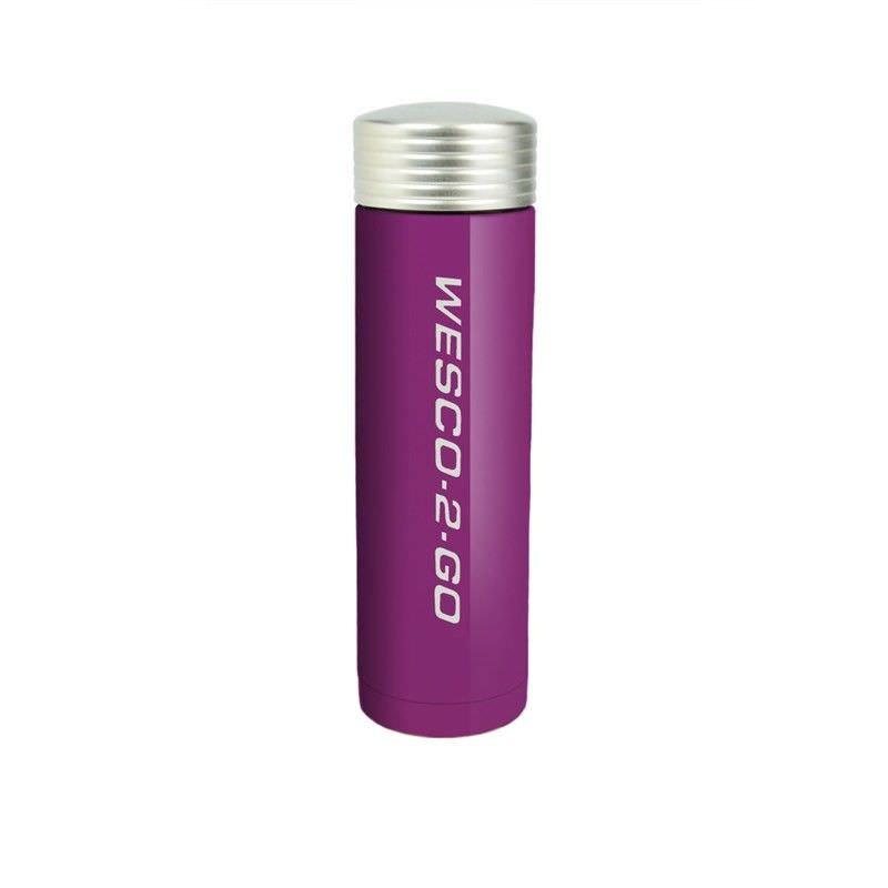 Wesco 350ml Stainless Steel Vacuum Flask for Hot and Cold Drinks - Lilac