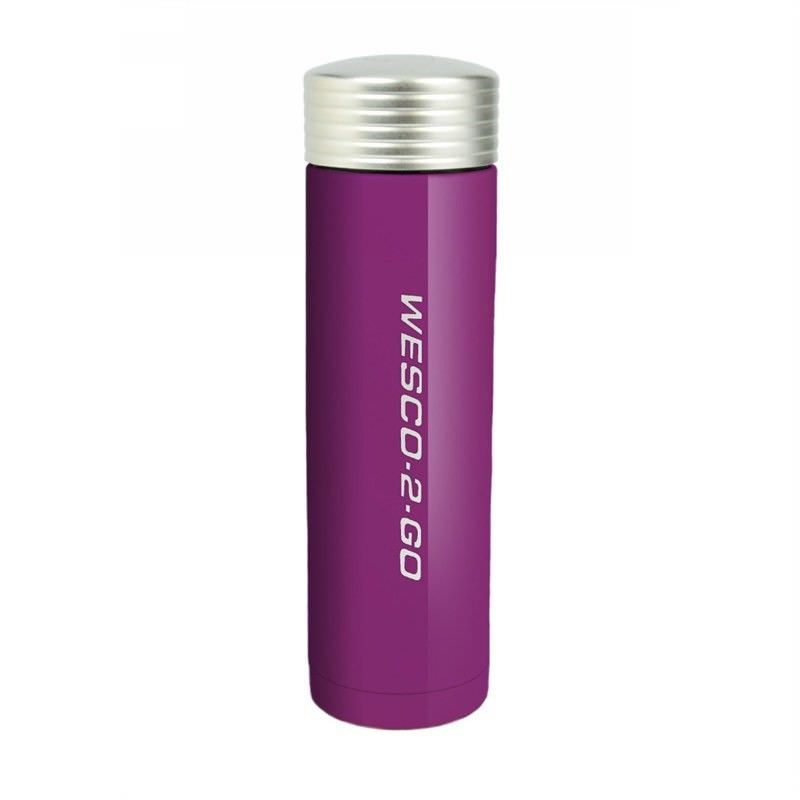 Wesco 450ml Stainless Steel Vacuum Flask for Hot and Cold Drinks - Lilac