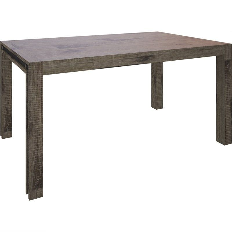 Pittsfield Solid Acacia Timber Dining Table, 220cm