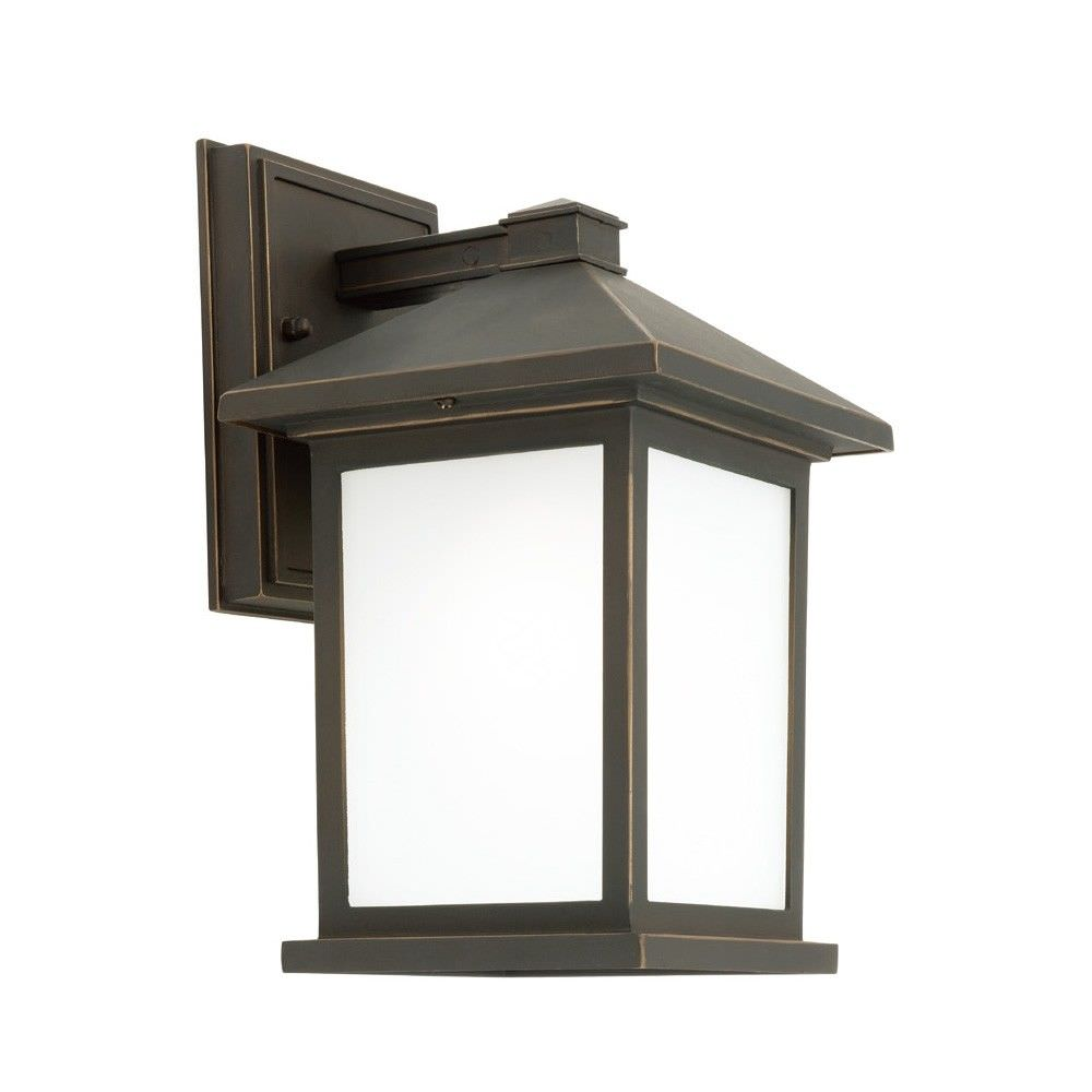 Plymouth IP43 Outdoor Wall Light - Bronze