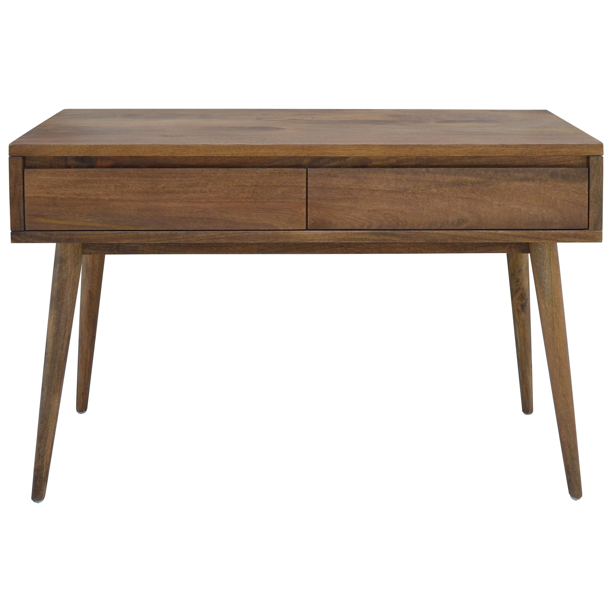 Stuart Solid Mango Wood Timber Console Table with Drawers