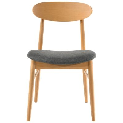 Knox Beech Timber Dining Chair, Wheat