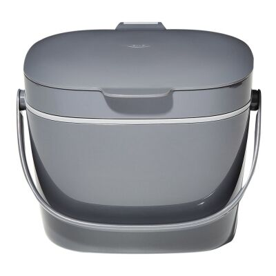 OXO Good Grips Easy-Clean Compost Bin, Charcoal