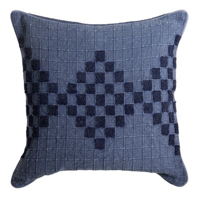 Johanna Embroidered Cotton Scatter Cushion