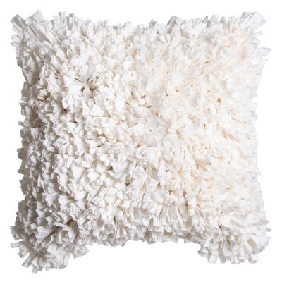 Elodie Petals Scatter Cushion, Ivory