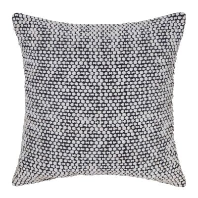 Brody Cotton Rich Scatter Cushion, Ivory / Charcoal