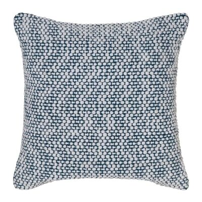 Brody Cotton Rich Scatter Cushion, Ivory / Teal