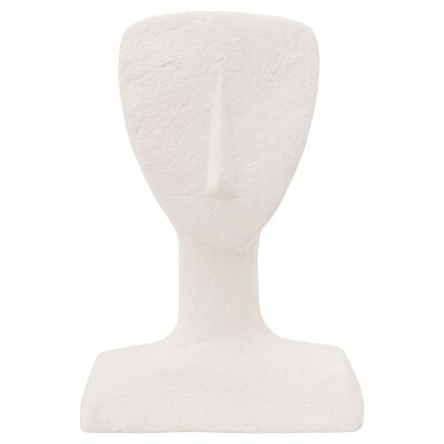 VTWonen Ecomix Recycled Paper Face Sculpture, Off White