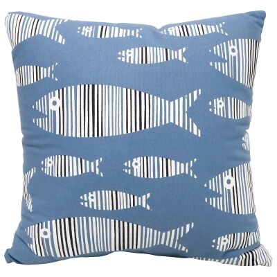 School Of Fish Cotton Scatter Cushion
