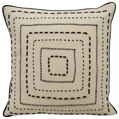 Tarni Embroidered Cotton Scatter Cushion