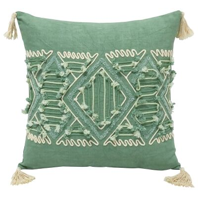 Tsani Embroidered Cotton Scatter Cushion