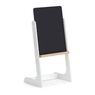 Boori Tidy Wooden Magnetic Drawing Board, Barley White / Almond