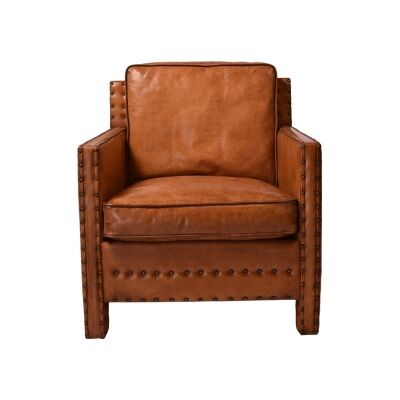 Brigette Leather Armchair