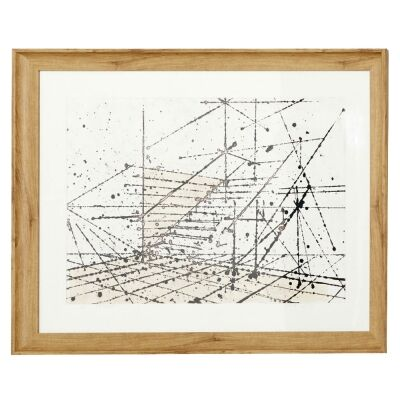 Sorcha Framed Wall Art Print, Stairway Perspective, 85cm
