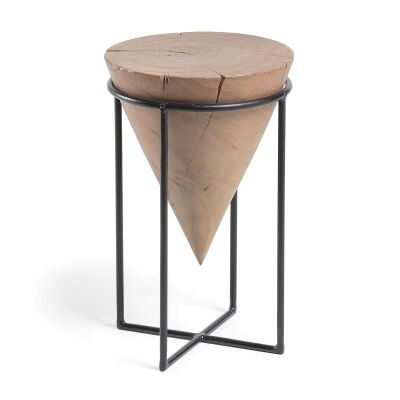 Jacoby Acacia Timber & Steel Side Table