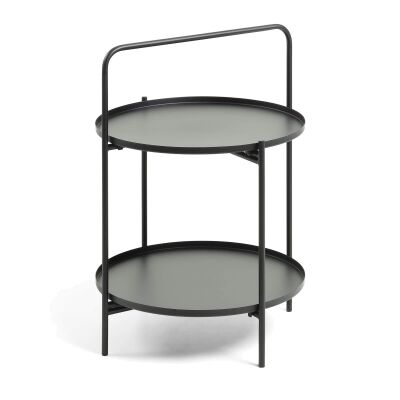 Arbeola Metal Round Side Table
