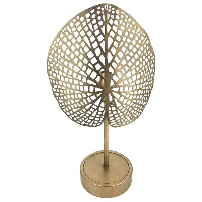Frond Metal Table Lamp