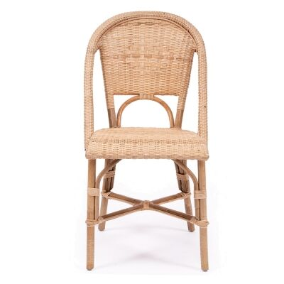 Sorrento Rattan Bistro Dining Chair, Natural