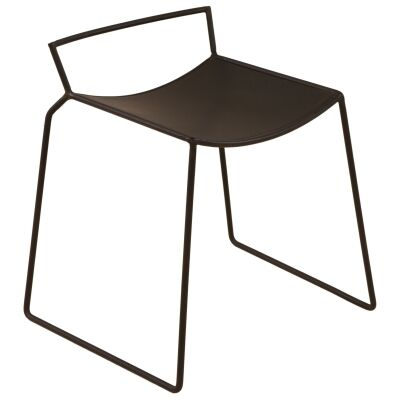 Lucas Bros Commercial Grade Metal Table Stool, Set of 2